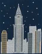New York by Night - DMC Cross Stitch Kit