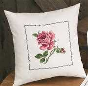 Rose Cushion - Permin Cross Stitch Kit