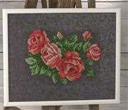 Red Roses - Permin Cross Stitch Kit