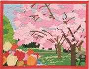 Permin Cherry Tree Long Stitch Kit