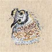 Luca-S Native Owl Cross Stitch Kit