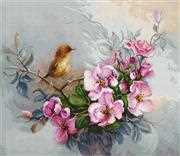 Luca-S Little Birdie Cross Stitch Kit