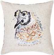 Native Owl Cushion - Luca-S Cross Stitch Kit