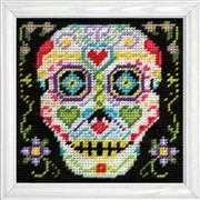 Design Works Crafts Skull Tapestry Kit