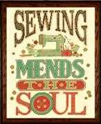Mend the Soul - Design Works Crafts Cross Stitch Kit