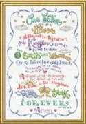 Cross stitch Design Works Crafts Religion