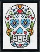 Design Works Crafts Sugar Skull Cross Stitch Kit