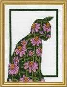 Flower Cat - Design Works Crafts Cross Stitch Kit