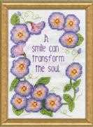 Design Works Crafts Morning Glories Cross Stitch Kit