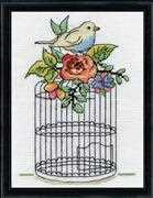 Birdcage - Design Works Crafts Cross Stitch Kit
