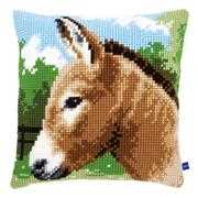 Vervaco Donkey Cushion Cross Stitch Kit