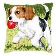 Vervaco Beagle Cushion Cross Stitch Kit