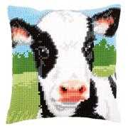 Cow Cushion - Vervaco Cross Stitch Kit