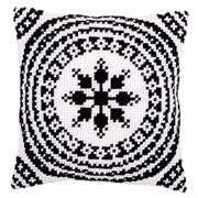 Vervaco Black and White Cushion Cross Stitch Kit