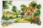 Summer Cottage - Needleart World No Count Cross Stitch Kit