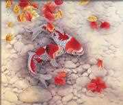 Koi Carp - Needleart World No Count Cross Stitch Kit