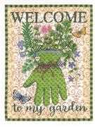 Gardener's Glove - Janlynn Cross Stitch Kit