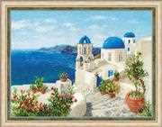 Santorini - RIOLIS Cross Stitch Kit