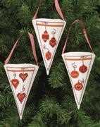 Permin Baubles Tree Pockets Cross Stitch Kit