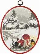 Christmas Night - Permin Cross Stitch Kit