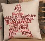 Christmas Star Pillow - Permin Cross Stitch Kit