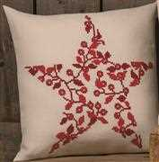 Christmas Berries Pillow - Permin Cross Stitch Kit