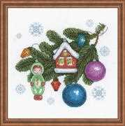 RIOLIS Beloved Decorations Christmas Cross Stitch Kit