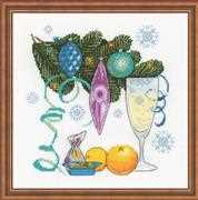 RIOLIS Happy New Year! Cross Stitch Kit