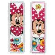 Vervaco Minnie Bookmarks - Set of 2 Cross Stitch Kit