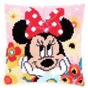 Daydreaming Minnie Cushion - Vervaco Cross Stitch Kit