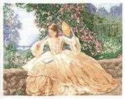 Janlynn Ringlets and Roses Cross Stitch Kit