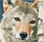 Wolf - Lanarte Cross Stitch Kit