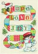 Dimensions Spread the Joy Christmas Cross Stitch Kit