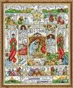 Design Works Crafts Nativity Story Cross Stitch Kit