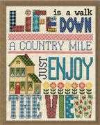 Country Mile - Design Works Crafts Cross Stitch Kit