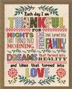 Design Works Crafts Thankful Cross Stitch Kit