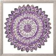 Design Works Crafts Zendazzle - Lilac Mandala Embroidery Kit