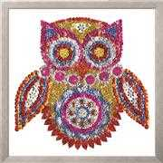 Zendazzle - Owl - Design Works Crafts Embroidery Kit