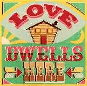 Love Dwells Here - DMC Tapestry Kit