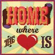 Home Where the Heart Is - DMC Tapestry Kit