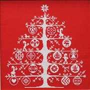 DMC Christmas Tree Red Cross Stitch Kit