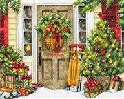 Dimensions Home for the Holidays Cross Stitch Kit
