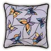 RIOLIS Butterflies Cushion/Panel Cross Stitch Kit