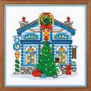 RIOLIS Ice Cabin Christmas Cross Stitch Kit
