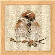 RIOLIS Sparrow Cross Stitch Kit