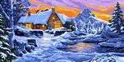 Reflections in the Snow - Grafitec Tapestry Canvas