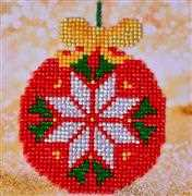 Needleart World Red Bauble Diamond Dotz Craft Kit Christmas Craft Kit