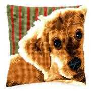 Vervaco Dog Cushion Cross Stitch Kit