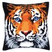 Vervaco Tiger Cushion Cross Stitch Kit