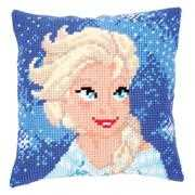 Vervaco Elsa Cushion Cross Stitch Kit